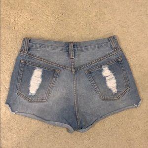 MINKPINK Shorts - Mink pink high waisted shorts